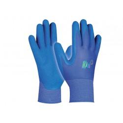 Pracovné detské rukavice GEBOL Kids blue